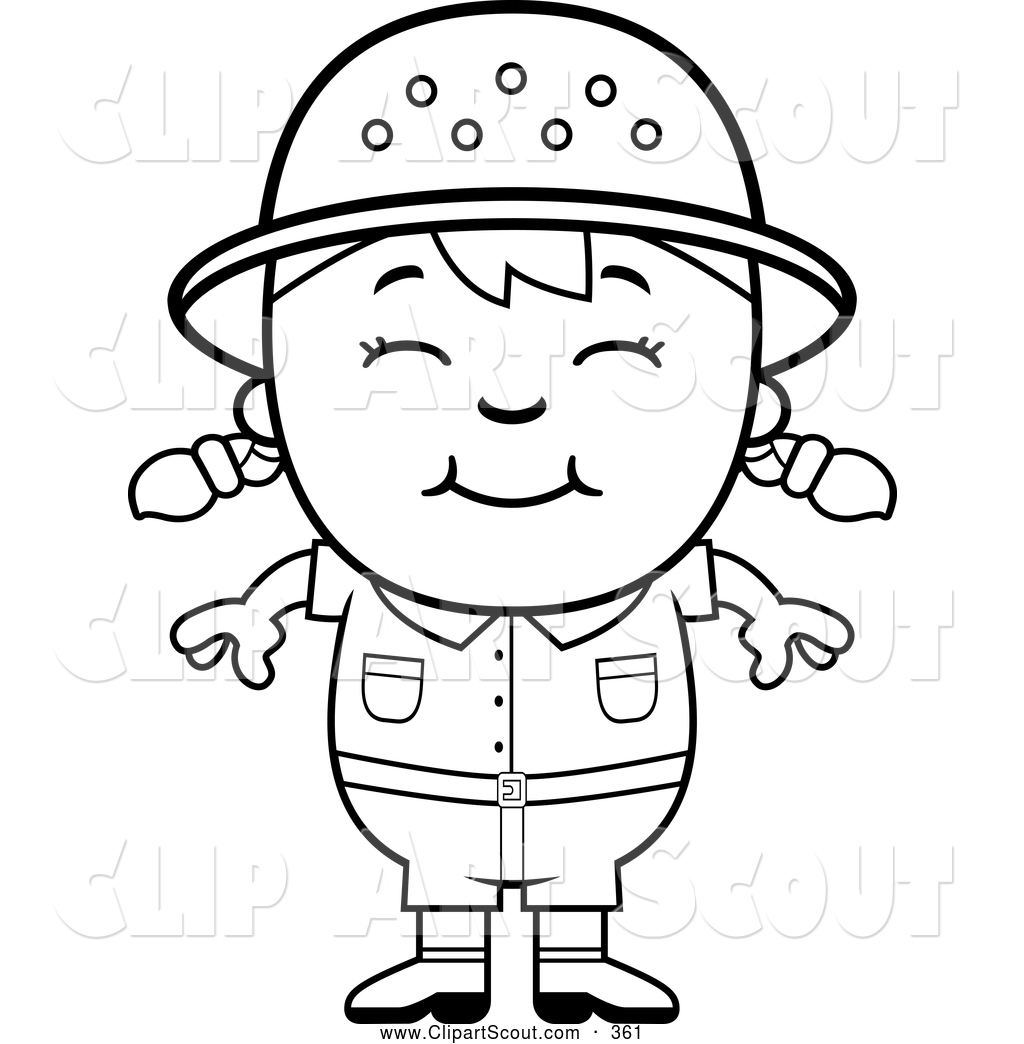 safari people coloring pages - photo#17