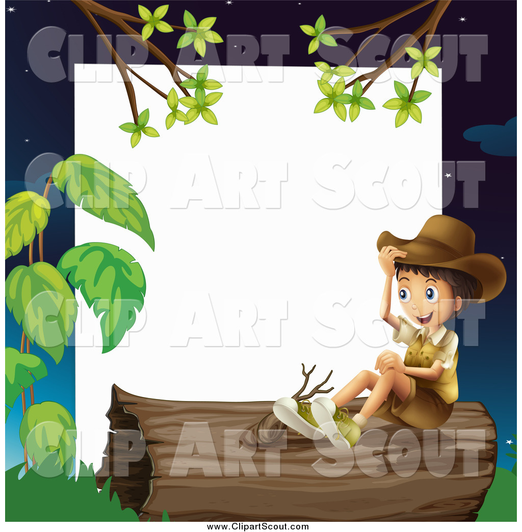 Royalty Free Stock Scout Designs of Kids - Page 4