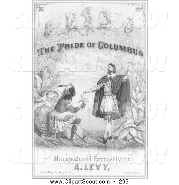 Clipart of a the Pride of Columbus - Artwork